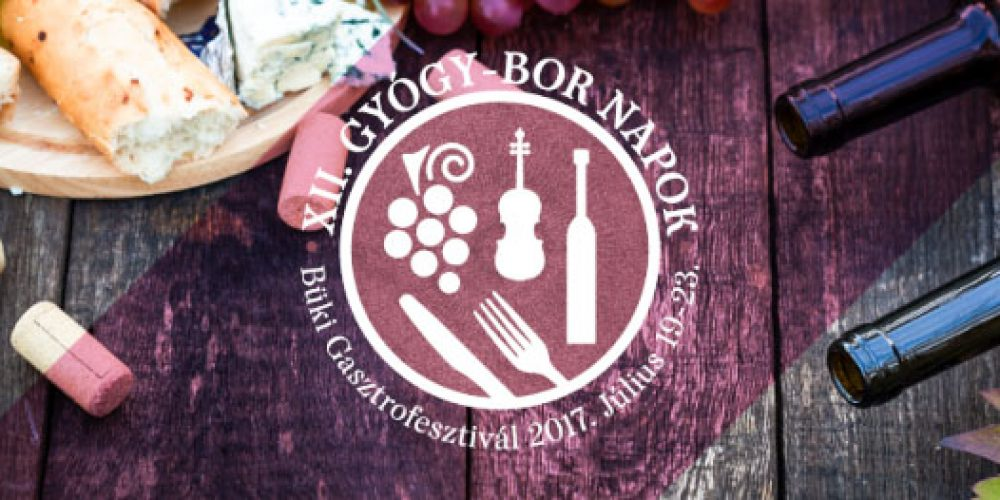 2017 XII. Healing – Vine – Gastrofestival in Bük 19-23. 2017.